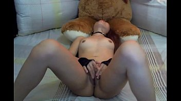Little asian girl fingering her pussy - Live on - www.sex247cams.com