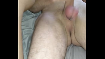 Paddling balls until he cums 1