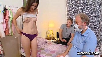 Man assists with hymen examination and screwing of virgin nympho pornhub video