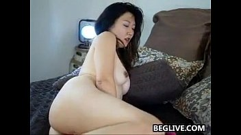 Horny Asian Mom With A Hairy Pussy