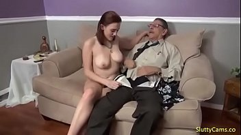 Grandpa fucks daughter