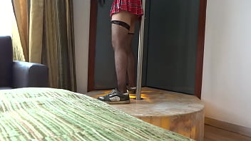 Shemale tube tv Foxxxymx motel cdmx bailando tubo pole dance crossdresser 2