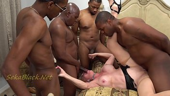 Granny fucking black man 6 - Seka runs with 4 of the bull royalty groups interracial best