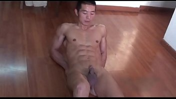sexy asia amateur boy muscle big-cock big-dick homemade hot chinese model handj