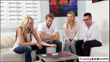 Watch its a family affair hentai - Weird family played poker stripping ends up fucking foursome