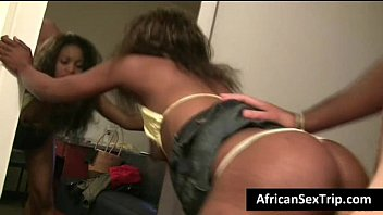 Shouth african porn - Booty african babe hardcore fucked by white bf on homemade
