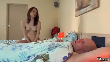 Step Daughter Fucked Grandfather Teen Blowjob And cumshot licking pussy sex