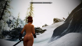 Naked dofus characters Skyrim mod sexy battle with dragon returns