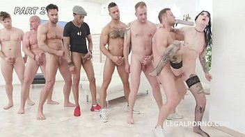 Interracial overload Anal overload 2 charlotte sartre gets 6 guys with balls deep dap, gapes facial gio1088