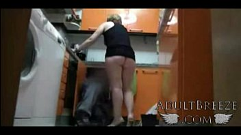 Real spy camera captures mom seducing plumber