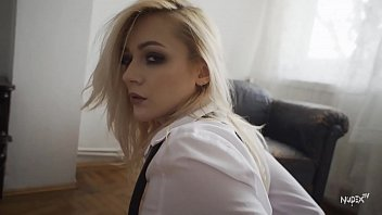 Hot Blonde with shirt teasing for Nudex.tv S01E07