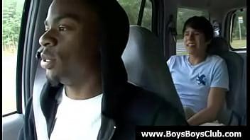 Black gay boys humiliate white twinks hard 17