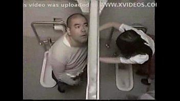 Teacher fuck student in toilet