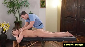 Guy massage his boss with his dick