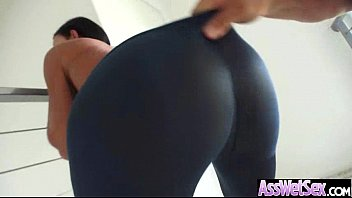 Girl With Huge Round Ass Get Oiled And Bang Hard video-17