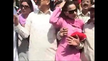 boobs presed shereen Rehman mishandle