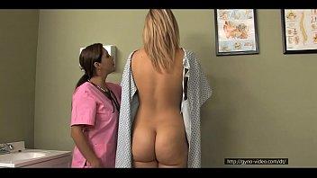 blonde medical exam