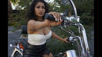 Sexy girls on motorcycles Sexy bhabi gets naked on bike - maya