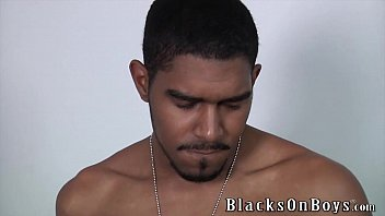 First name gay Blaze having his first black cock experience