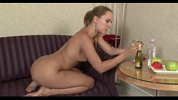 $$$-SUPER SEXXY BLONDE STUFFING PUSSY WITH BOTTLE-$$$