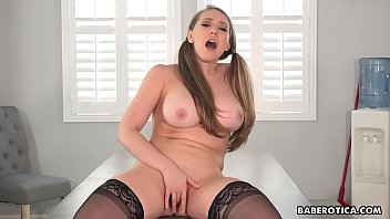 Watch Adrienne gonzo style solo masturbating on Give Me Pink