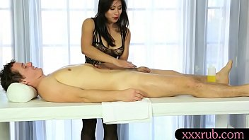 Asian masseuse blowjobs and foot fetish