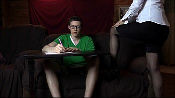 Sexy Tutor Lelu Love Seduces Her Student To Clear His Head thumbnail