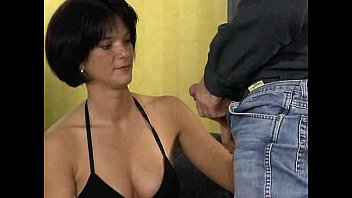 Fantastic women mature amateur photo German brunette fuck with photographer