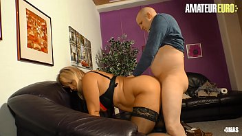 AMATEUR EURO - German BBW Blonde Kiki R. Goes Wild For Husband Dick Vorschaubild