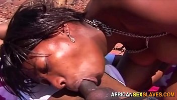 Amazing Ebony BBC Group Sex Outdoor Party in Africa