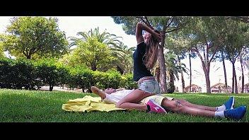 TRAVEL SHOW ASS DRIVER -  Valencia. Relax in Turia park with Sasha Bikeeva. Jardín del Turia Part 5