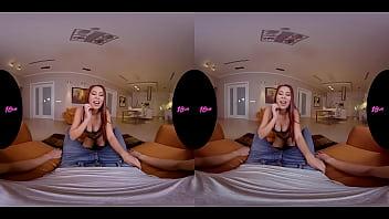Stunning Redhead Teen Paula Shy VR Sex