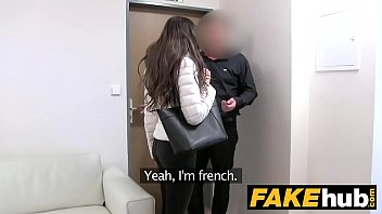 Fake Agent Amazing French beauty with perfect body likes to be on top thumbnail