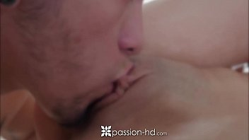 PASSION-HD Blonde Elsa Jean massaged and fucked with cumshot