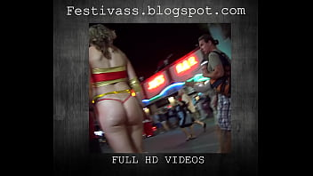 See through clothing thumbs - Festivass, microskirt, see through, thong, cheeky shorts, etc