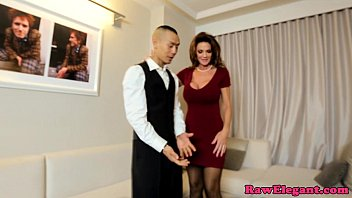 Adult exotic vacations service in the uk Classy cougar fucking lucky room service guy