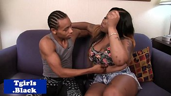 Transsexual resource - Black transsexual pounded doggystyle