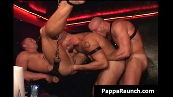 Sexy hunk is sex slave and gets tight gays