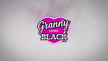 GRANNYLOVESBLACK – Thick Black Dick Vs. Granny