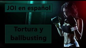 Destruyendo tus partes. Audio JOI con ballbusting y tortura.