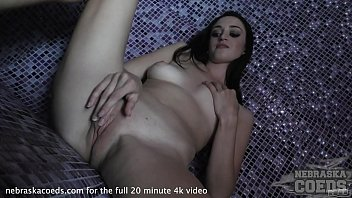 young innocent egle pussy pump and naked in the sauna