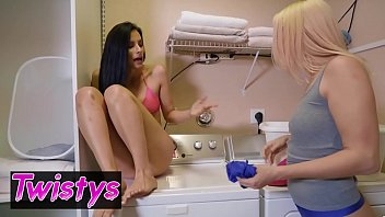 When Girls Play - (Sierra Nicole, Alexis Deen) - Laundry Day Panty Sniffer - Twistys