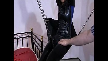Hot slave girl going wild and crazy