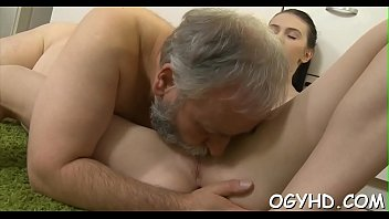 Free video porn old dudes - Old dude fucks young wet pussy