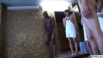 JAV black student mixed bathing interracial blowjob Subtitles [일본 야동 jav]