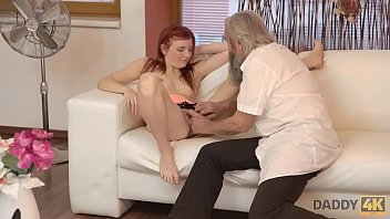 DADDY4K. Awesome old and young experienced of naive girl Vanessa Shelby and BFs dad