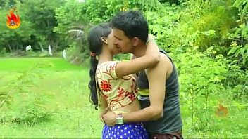 Sexy Indian desi girl fucking romance outdoor sex -