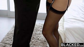 BLACKED Blonde Kate England Gets Anal From Huge Black Cock thumbnail