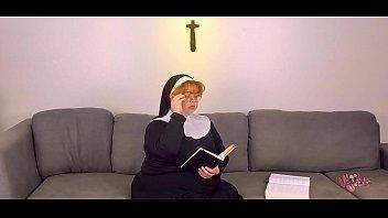 sunday school special: chubby nun fucks crucifix -short