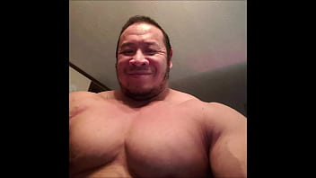 Massive muscle daddy [tags: muscle, bodybuilder, daddy, gay, pec flexing, pec bouncing, beefy, massive, thick, chest, biceps, hunk, muscular, built, naked, nude, posing, flexing]